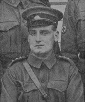 Profile pic close walter john westcott   8 3 1918  enlistment picture  courtsy douglas paterson researching pac