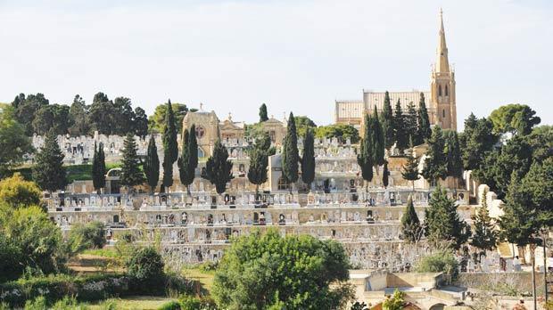 Normal addolorata cemetery  malta