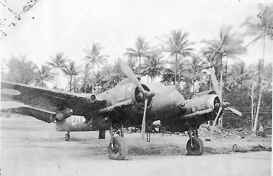 Normal australian beaufighter of no 31 squadron raaf