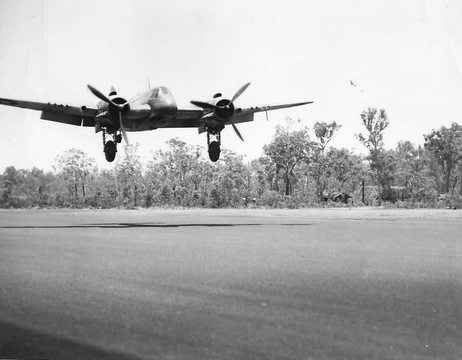 Normal sqn ldr hank henry of 30 squadron raaf beaufighter australia 1943