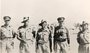 Thumb el alamein october 1942. l r  captain bill reid  sgt. j.k. weston dcm mm  c  coy  sgt. herb ashby dcm  d  coy  lt.col. h.h. hammer co  cpl. j. duffield mm stretcher bearer  d  coy