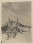 Thumb cleaver  edward randolph    91   photo  palestine outfront of his tent