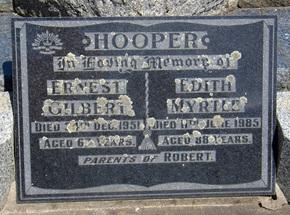 Profile pic hooper  ernest gilbert 60