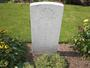 Thumb headstone of private joseph pitt