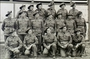 Thumb hele  ivor henry thomas   sx7174 acting corporal    is at extreme left  second row. wayville showgrounds