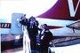 Thumb 1965 04 pilgrimage boarding a qantas vjet b707 m