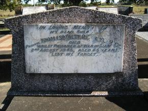 Profile pic rice thomas walter carlyle   grafton cemetery   1