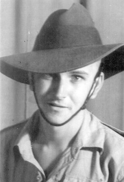 Profile pic arthur james sutton   rookie   in 1942. sapper in 16th aust field co r.a.e.