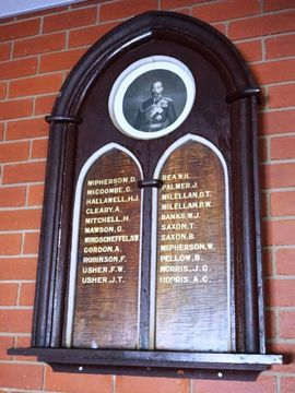 Normal violet town uniting church honour roll 49194 98111
