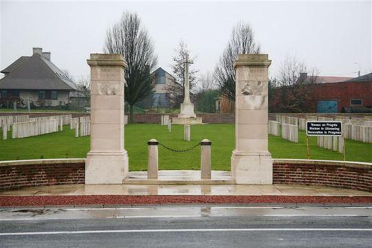 Normal birr cross roads cemetery   entrance