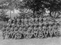 Thumb mahony cpt 1056 john austin 24th btn    group portrait of the officers of the 24th btn 27 6 1918 france front row 3rd from right  awm e02589
