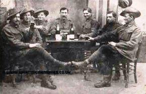 Profile pic collis sapper paul   1st atc   2nd left   1918