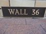 Thumb signage   wall 36