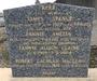 Thumb jonas 2837b lnc sgt george morris   grave   foster parents headstone