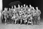 Thumb lawson lte percy harold  front row 5th from l   officers of 68th sqdn afc at baizieux france  e01434