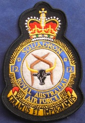 Big thumb raaf no 12 squadron patch 2