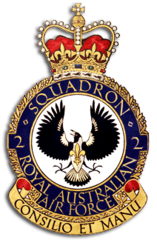 Big thumb no. 2 squadron raaf crest 1